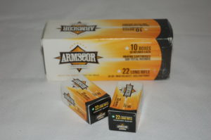 Armscor .22LR $7.00 bx of 50 $55.00 bx of 500